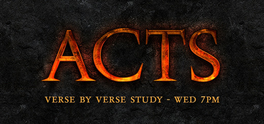 Acts Bible Study Blog Banner