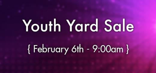 Youth Yard Sale Blog Banner