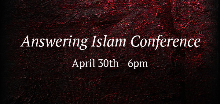 Answering Islam Conference Blog Banner