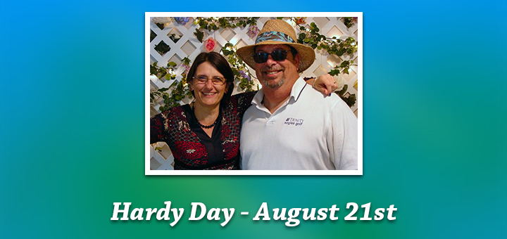hardy day blog banner